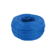 Blue Polypropylene Rope 6mm x 220m coil