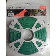 2mm Strimmer Line Round Green 123 mtr Roll