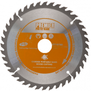 GT10750 TCT Saw Blade 165x2.4x1.4x20mm 40 Teeth Wood Cutting