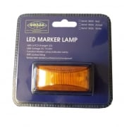 Lamp Marker LED Amber 12/24V 74x38x30mm 15034
