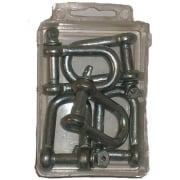 FPack 6mm D Shackle (6 pcs) 1536