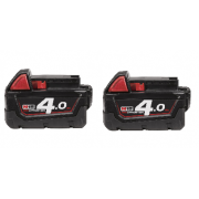 M18B4 18v 4.0Ah Lithium-Ion Battery Twin Pack