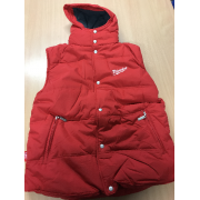 Padded Bodywarmer With Fleece Lining