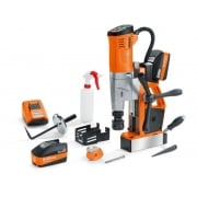 AKBU 35 PMQW 18v Cordless Mag Drill With 2 x 5.2ah Batteries Charger + Case