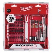 40 Piece Shockwave Screwdriver Bit Set