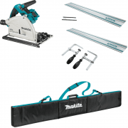 DSP600ZJ Twin 18v Cordless Plunge Saw Bundle Kit Body Only