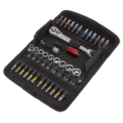 36 Piece Socket & Bit Set