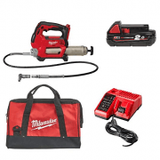 M18GG-201B 18v Grease Gun With 1 x 2.0Ah Battery, Charger & Bag