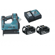 DBN500RTJ 18v Brad Nailer With 2 x BL1850, Charger and Makpac