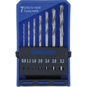 2615062832 7 Piece Precision Drill Bit Set 628