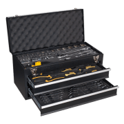 S01055 2 Drawer Portable Tool Chest With 90 Piece Tool Kit