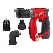 M12FDDXKIT-202X 12v Drill Driver Set With Removeable Heads