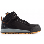 Switchback Black Safety Boots