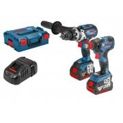 06019G4273 18v Brushless Combi & Impact Wrench / Driver Set 2 x 5.0ah Batteries