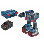 06019G4172 18v Brushless Combi & Impact Driver Twin Pack 2 x 5.0ah Batteries