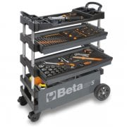 C27S Folding Tool Trolley Grey (tools not included)